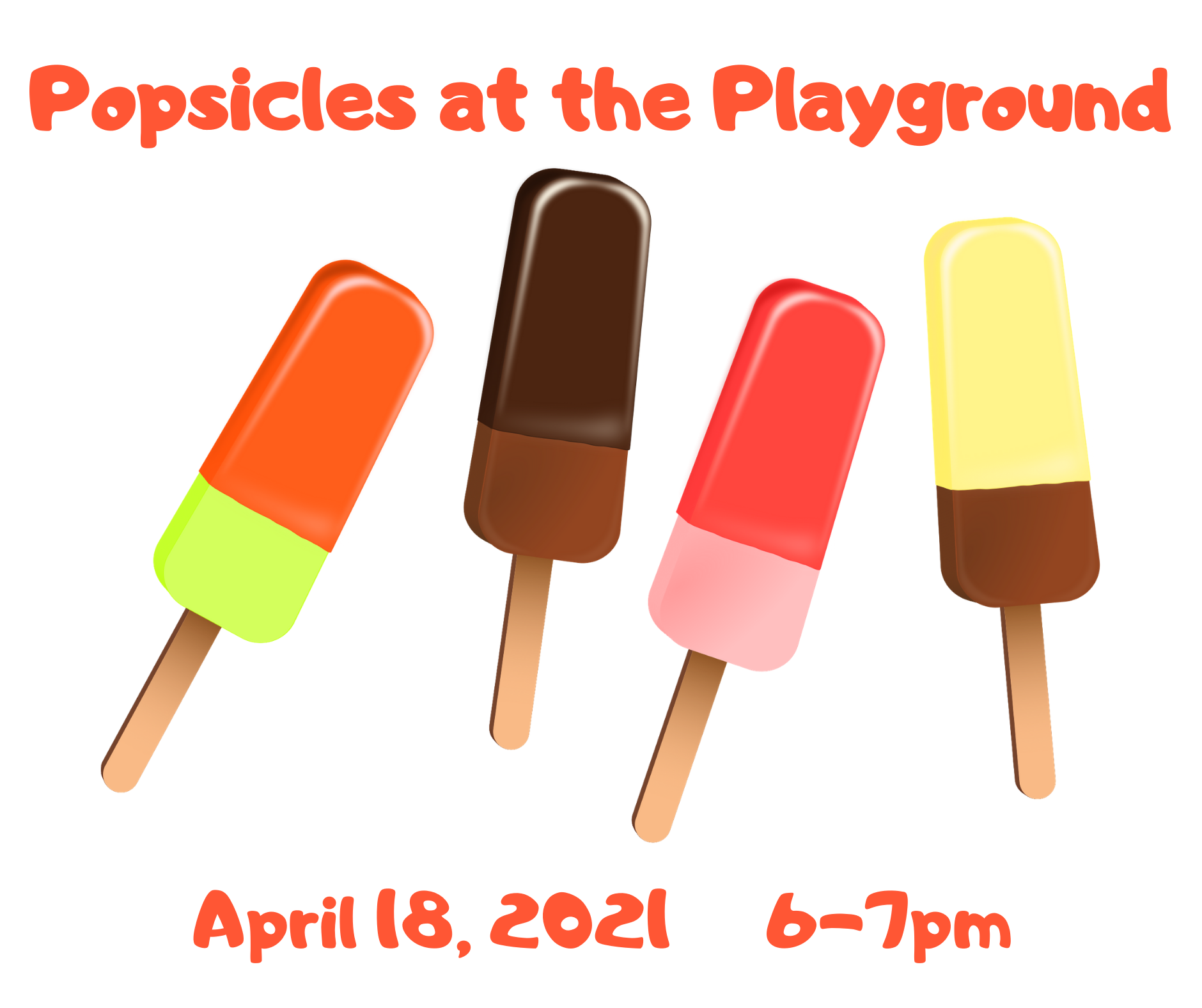 Popsicles at the playground