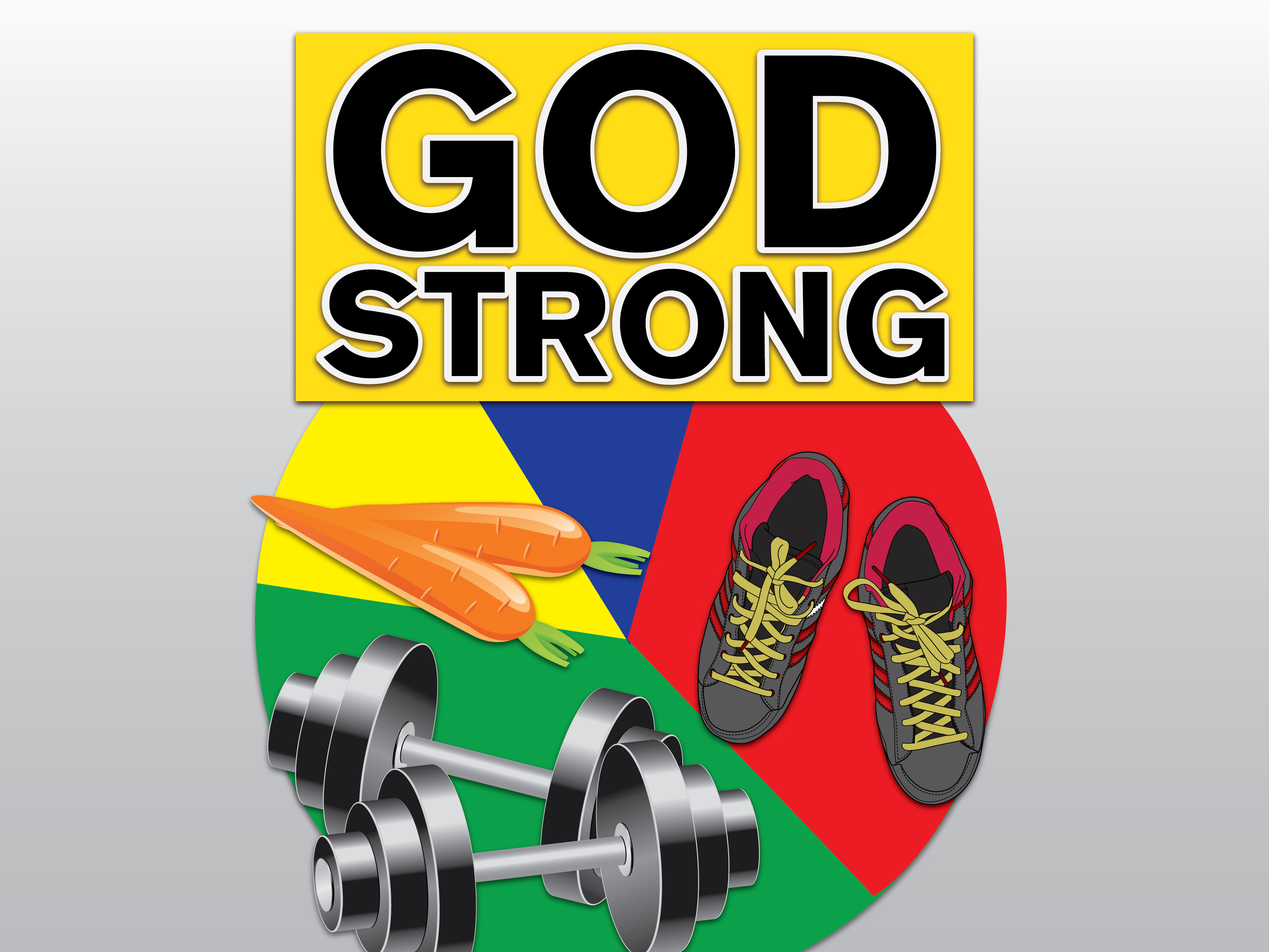God Strong Graphic
